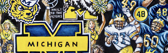 Michigan Wolverines Tribute