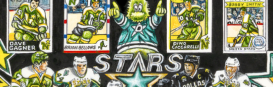 Dallas Stars Tribute