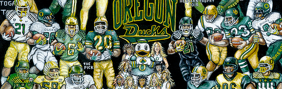 Oregon Ducks Tribute