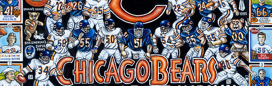 Chicago Bears Tribute