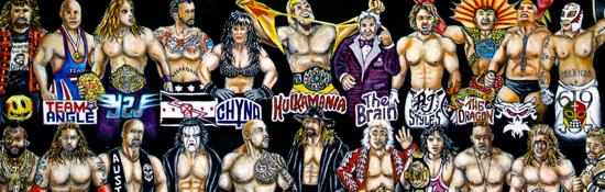Wrestling Legends Tribute