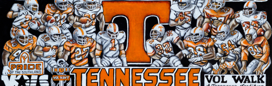Tennessee Vols Tribute