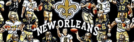 New Orleans Saints Tribute
