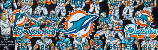 Miami Dolphins Tribute