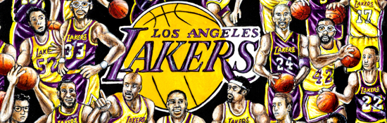 Los Angeles Lakers Tribute