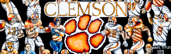 Clemson Tigers Tribute
