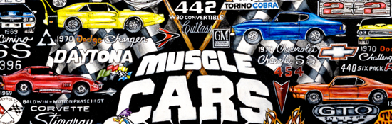 Muscle Cars Tribute